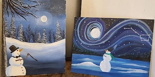 Sip & Paint: Winter Edition Part 2
