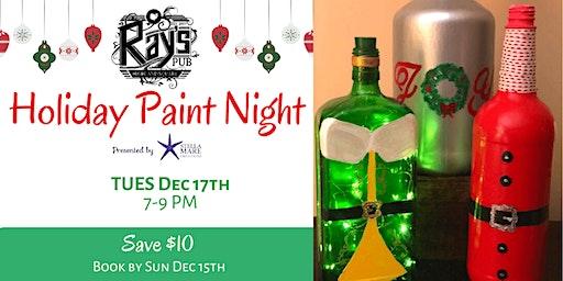 Holiday Paint Night at Ray's Pub