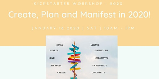 Create, Plan and Manifest in 2020!