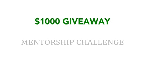 $1000 Giveaway