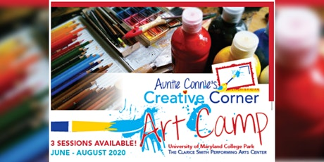 Creative Corner Art Camp : Session 2 - July 13 to July 24 tickets