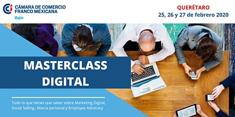MASTERCLASS DIGITAL boletos