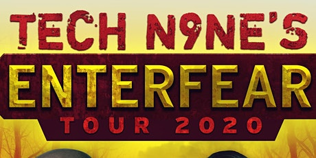 Tech N9ne - Enterfear Tour 2021 tickets