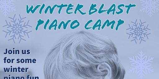 Winter Blast Piano Camp