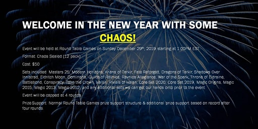 Magic Charlie Chaos Sealed at Round Table games