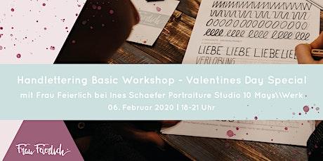 Handlettering Basic Workshop Valentines Day Special Tickets