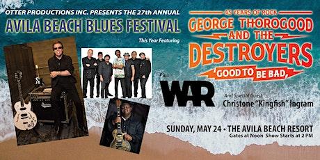 27th Annual Avila Beach Blues Festival tickets