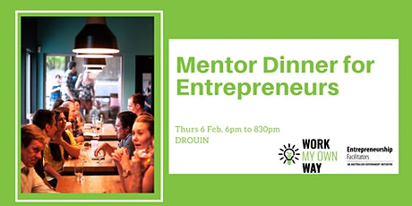 Mentor Dinner for Entrepreneurs tickets