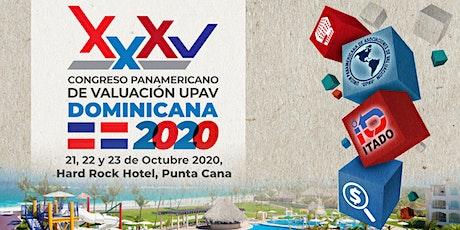 XXXV CONGRESO PANAMERICANO UPAV 2020 (Test) tickets