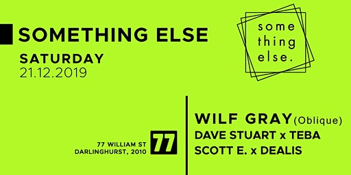 Something Xmas with Wilf Gray and Something Else x Deep Repeat