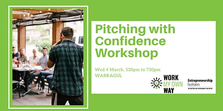 Pitching with Confidence Workshop tickets