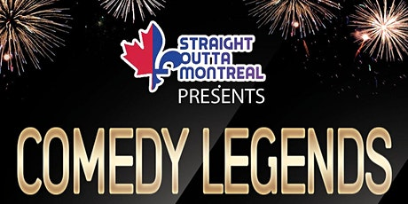 Montreal Shows ( Stand Up Comedy ) Comedy Legends billets