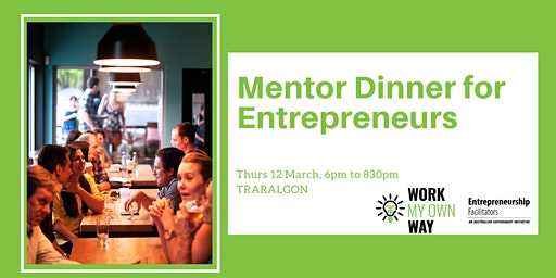 Mentor Dinner for Entrepreneurs