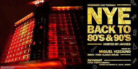 Jackies Back to 80' & 90' NYE - Disco, Funk & Classic House entradas