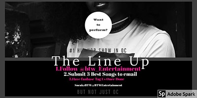 The Line Up #1 Hip Hop Show In OC