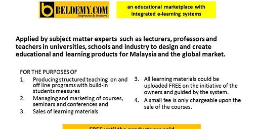 Beldemy: where knowledge grows