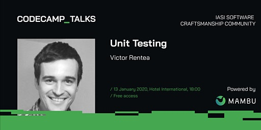 Codecamp Talks Victor Rentea, 13 January 2020