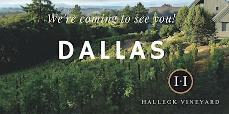 Halleck Vineyard Tasting Salon in Dallas tickets