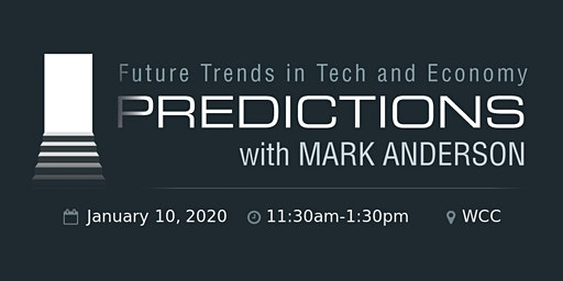 TAG Predictions 2020 with Mark Anderson