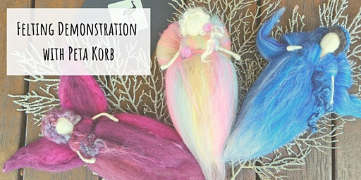 FREE Felting Demonstration| Angel / Fairy Needle Felting Demo