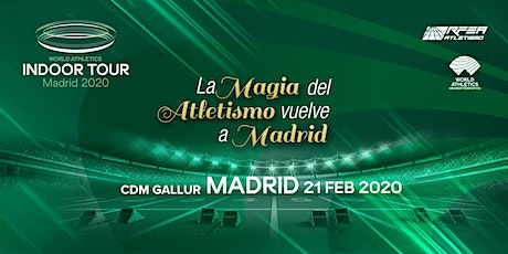 WORLD ATHLETICS INDOOR TOUR MADRID 2020 entradas