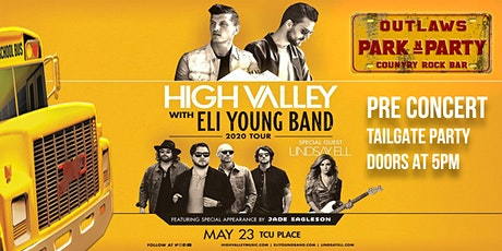 Outlaws Park and Party to High Valley & Eli Young Band ft Lindsay Ell tickets