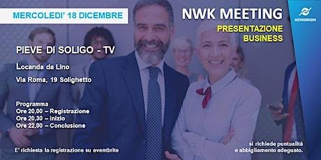 MEETING PRESENTAZIONE BUSINESS - NEWORKOM COMMUNITY - PIEVE DI SOLIGO-TV biglietti
