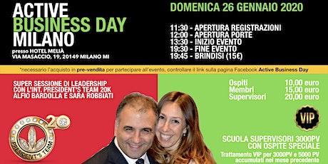 Active Business Day Milano - 26 Gennaio 2020 biglietti