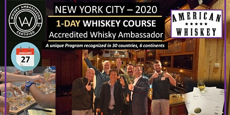 Whiskey - Want to Become Knowledgeable & certified? One-day course tickets
