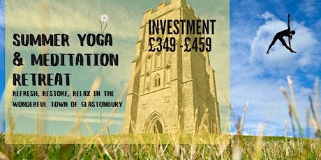 Spring Yoga & Meditation Retreat tickets