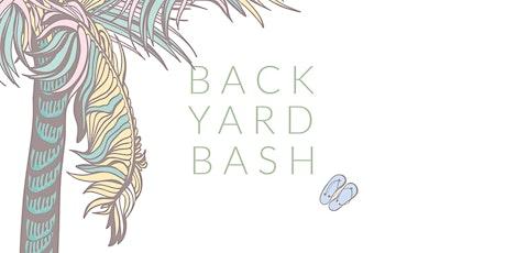 BACKYARD BASH  tickets