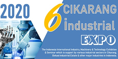 The 6th Cikarang Industrial Expo (CIE 2020) tickets