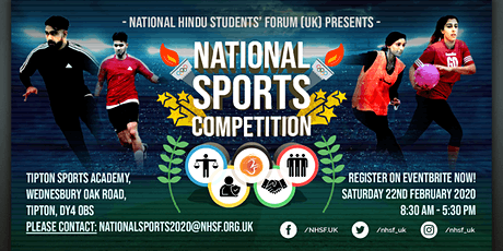National Sports Competition 2020 tickets
