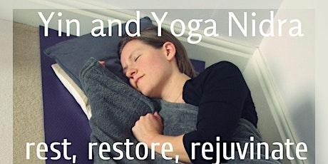 January Yin Yoga and Yoga Nidra tickets