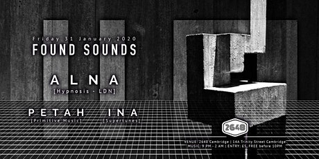 Found Sounds | 31/01/2020 tickets