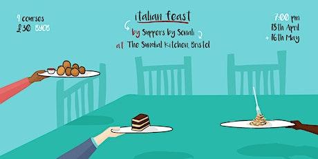 Italian Feast at Sundial Kitchen tickets