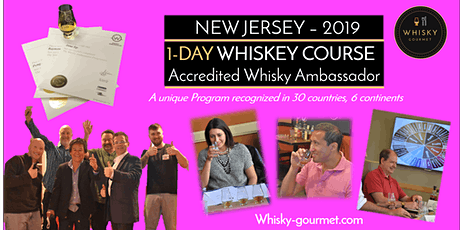Whiskey: Want to Become Knowledgeable & certified? One-day course tickets