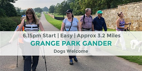 GRANGE PARK COUNTRY PARK EVENING WALK | 3.2 MILES | NORTHANTS | COUNTY tickets