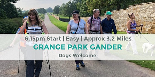 GRANGE PARK COUNTRY PARK EVENING WALK | 3.2 MILES | NORTHANTS | COUNTY