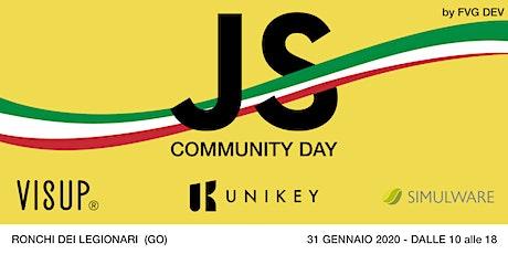 JAVASCRIPT COMMUNITY DAY (Edizione FVG) biglietti