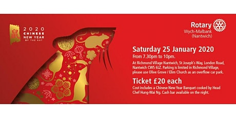 Chinese New Year Banquet with Head Chef Hung-Wai Ng tickets