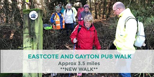 EASTCOTE AND GAYTON PUB WALK | 3.5 MILES | EASY | NORTHANTS