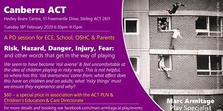Risky Dodgy Dangerous Play - in Canberra ACT tickets