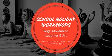 School Holiday Workshops in The Joy Space Carnegie tickets