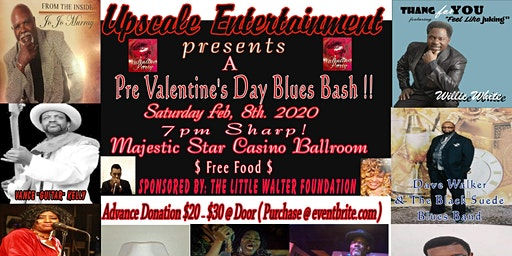 Pre Valentine's Day Blues Concert