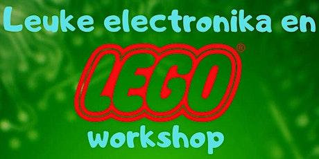 Leuke Electronika en Lego workshop tickets