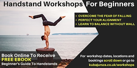 Handstand Workshop in Portsmouth (Suitable for Beginners) tickets