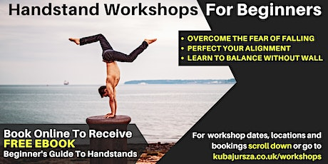 Handstand Workshop in Bournemouth (Suitable for Beginners) tickets
