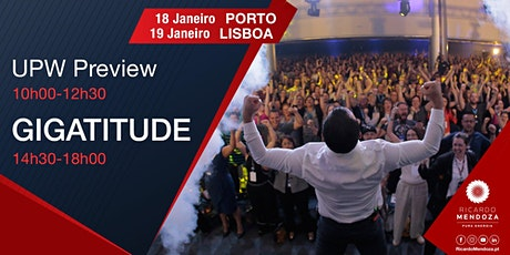 Gigatitude 2020 - Porto bilhetes