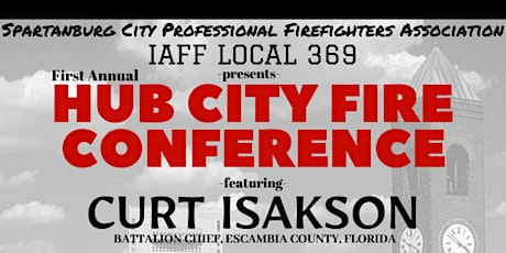 Hub City Fire Conference tickets